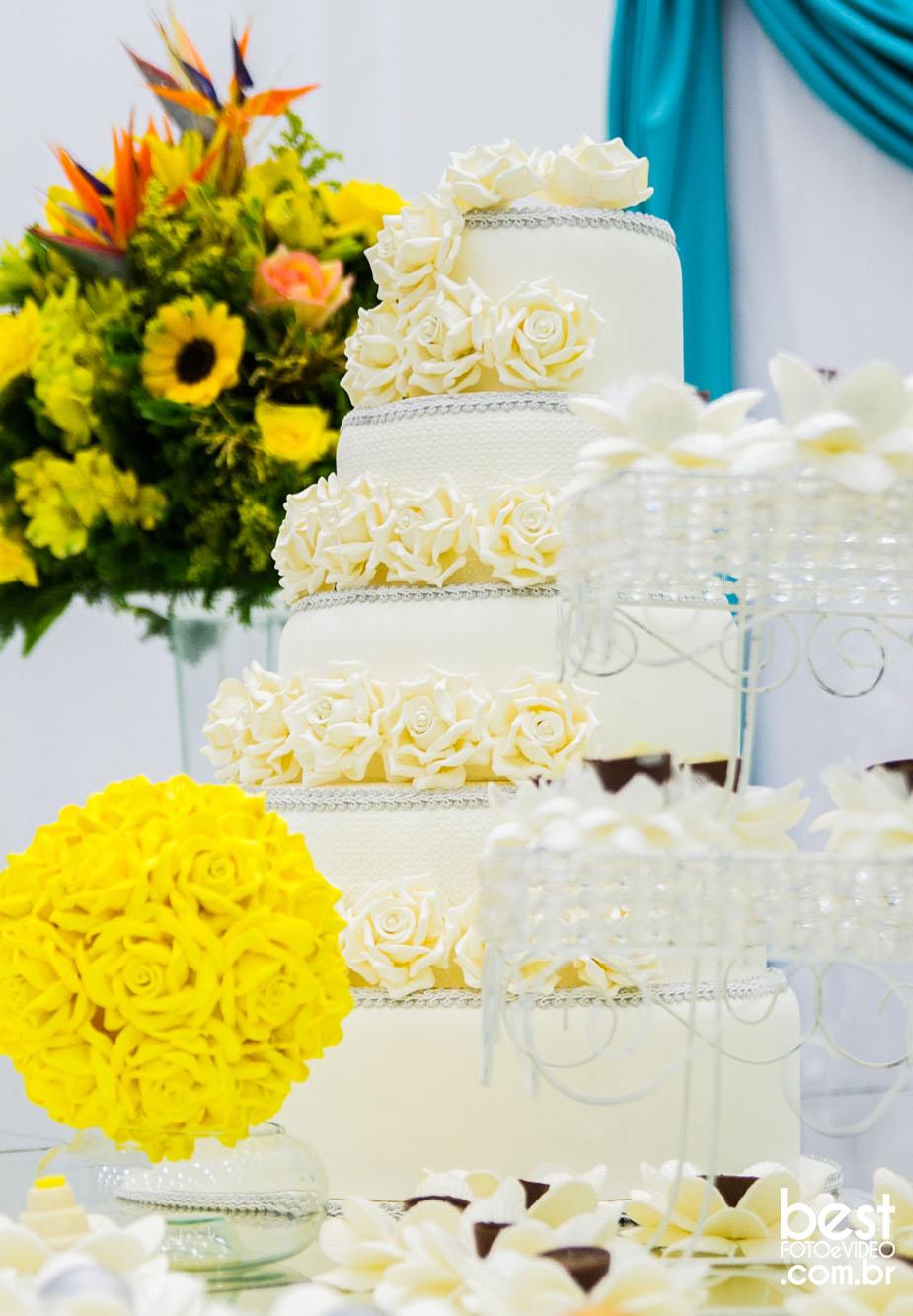 Tendências para bolos de casamento em 2017
